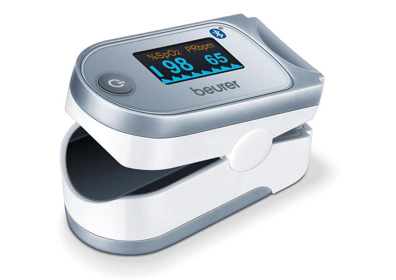 Уред за измерване на пулс оксиметър Beurer PO 60