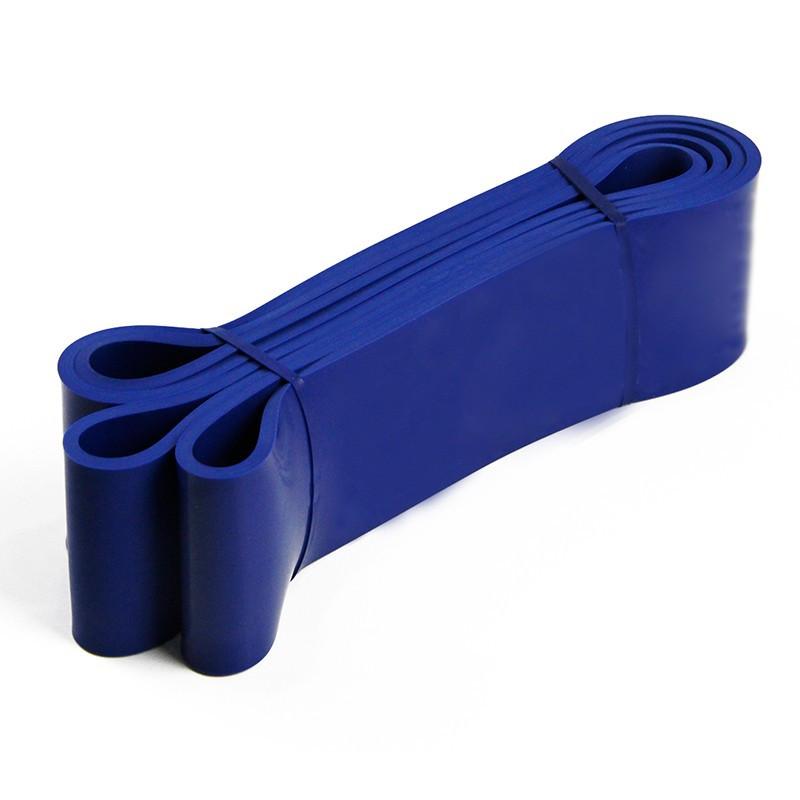 Ластична лента за упражнения, синя СИН със съпротивление 25-60 кг.