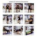 Ластична лента за упражнения, набирания и тренировка Armageddon Sports, Лилав със съпротивление 15-35 кг.