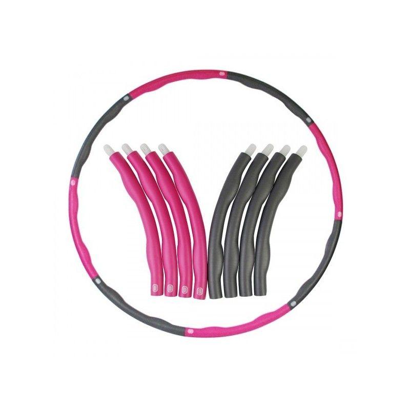Масажен обръч за въртене Weight Hula Hoop 100 см