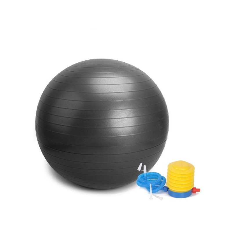 Гимнастическа швейцарска топка 65 см. три цвята