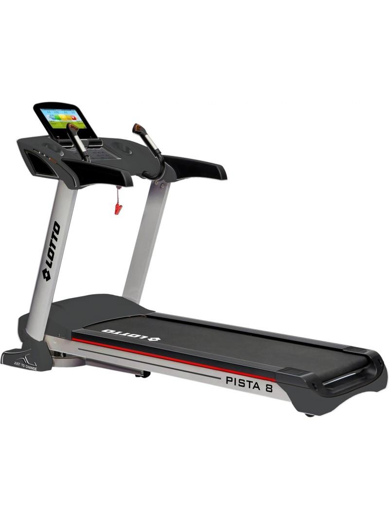 Бягаща пътека PISTA 8 до 22км с 3.0 HP на Lotto Fitness
