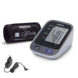апарат за кръвно omron м3+ac адаптер с голям маншет