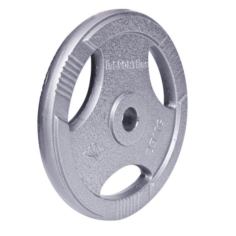 Дискове, тежести HAMERTON от стомана с отвори за хващане и размер фи 30