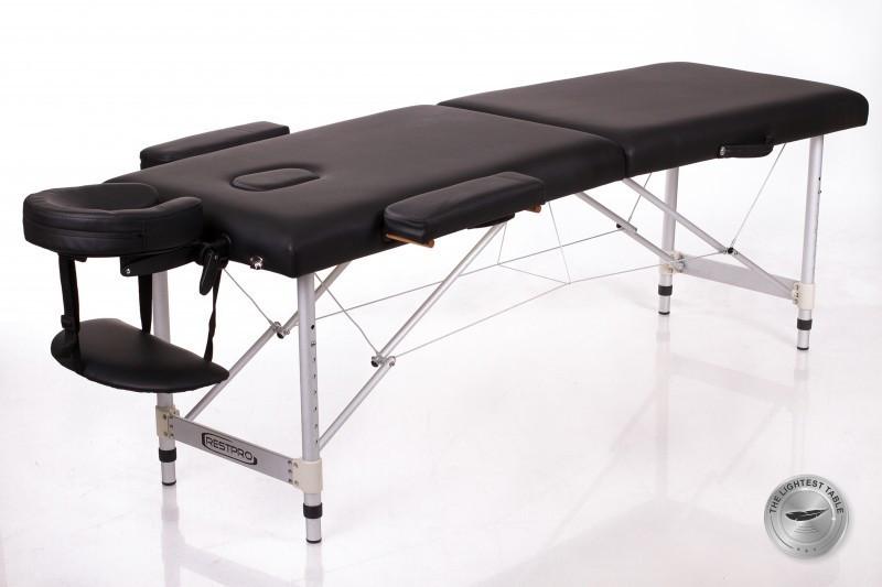 Сгъваема маса за масаж алуминиева ALU 2 размер (M) черна
