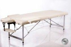 Сгъваема маса за масаж алуминиева ALU 2 размер (L) бежова