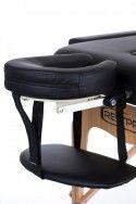 Масажна кушетка RESTPRO® VIP 2 Лека конструкция Мека подложка - черна