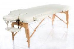 Масажна кушетка RESTPRO® VIP 2 Лека конструкция Мека подложка - кремав