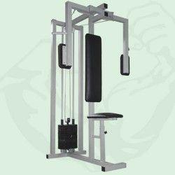 Професионален Пек Дек с 80 кг. тежести