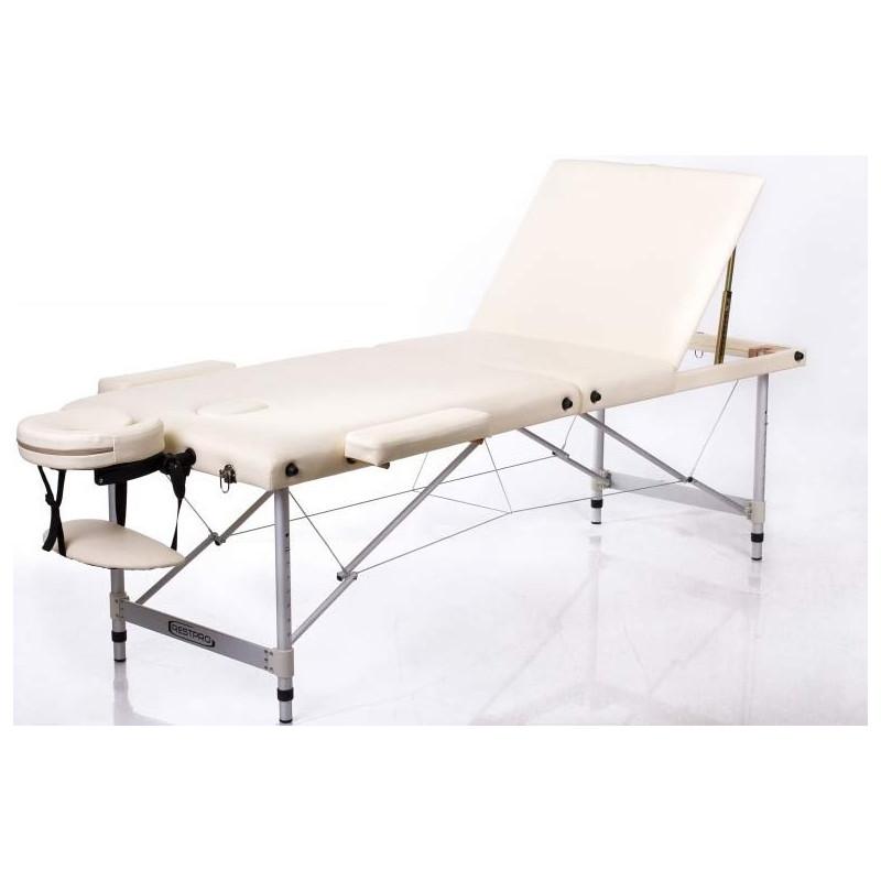 Масажна кушетка RESTPRO® ALU 3 Комплектът включва маса за масаж, куфар за носенe