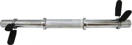 Лост къс за дъмбел Ф25 мм с щипки