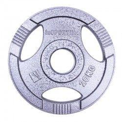 Дискове за щанга от стомана с отвори за хващане олимпийски размер