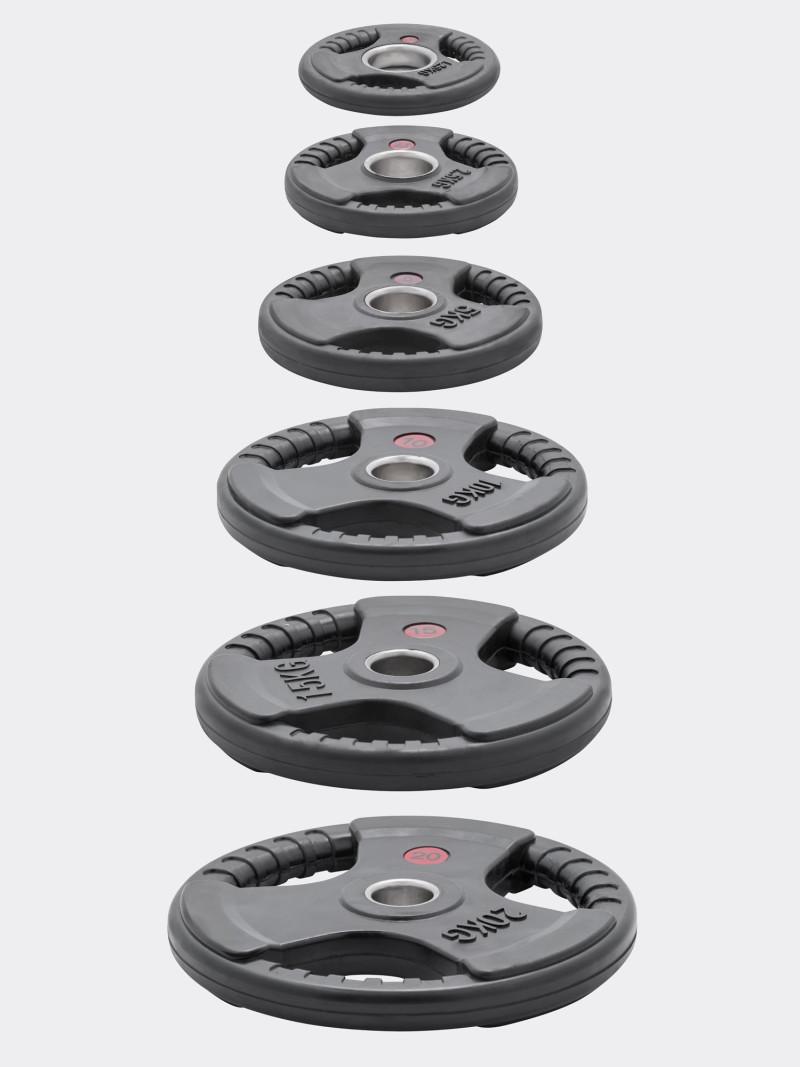 Дискове олимпийски гумирани 3D