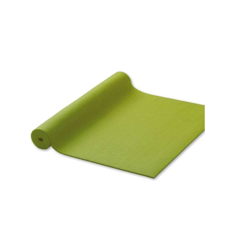 Постелка, подложка за йога 180 х 60 см х 4.5 мм зелена