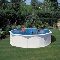 Кръгъл басейн с диам.460см и дълбочина 120см.