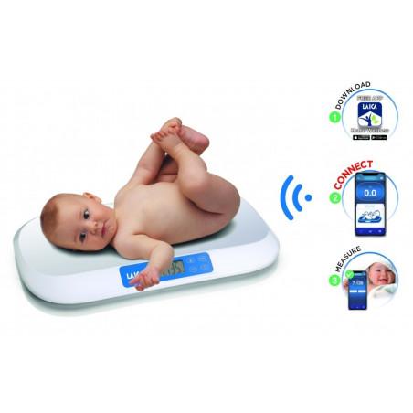 Интелигентна електронна бебешка везна Laica PS7030