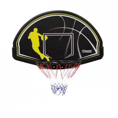Баскетболно табло с ринг и мрежа, 112 x 72 см
