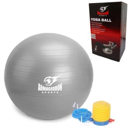 Гимнастическа швейцарска топка 85 см. два цвята
