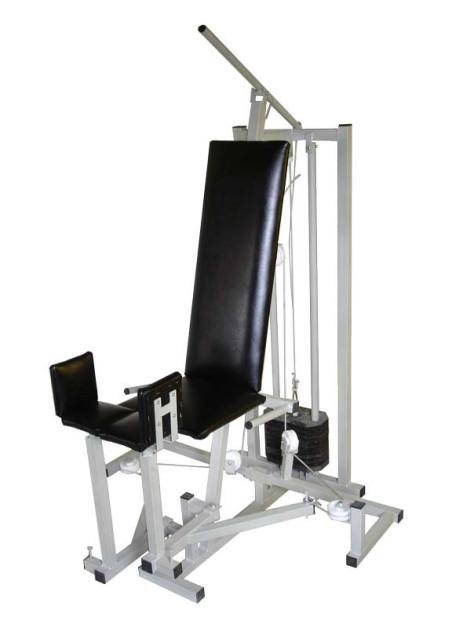 Абдуктор-аддуктор комбиниран свободни тежести