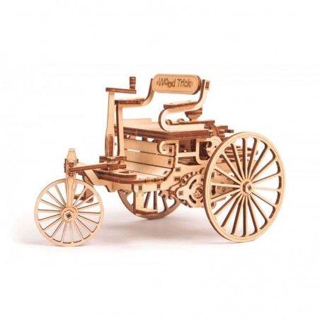 Дървен конструктор Първата кола