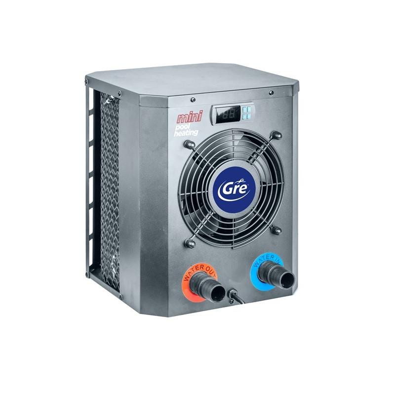 Термопомпа за загряване на водата в басейни с обем макс. 40м3