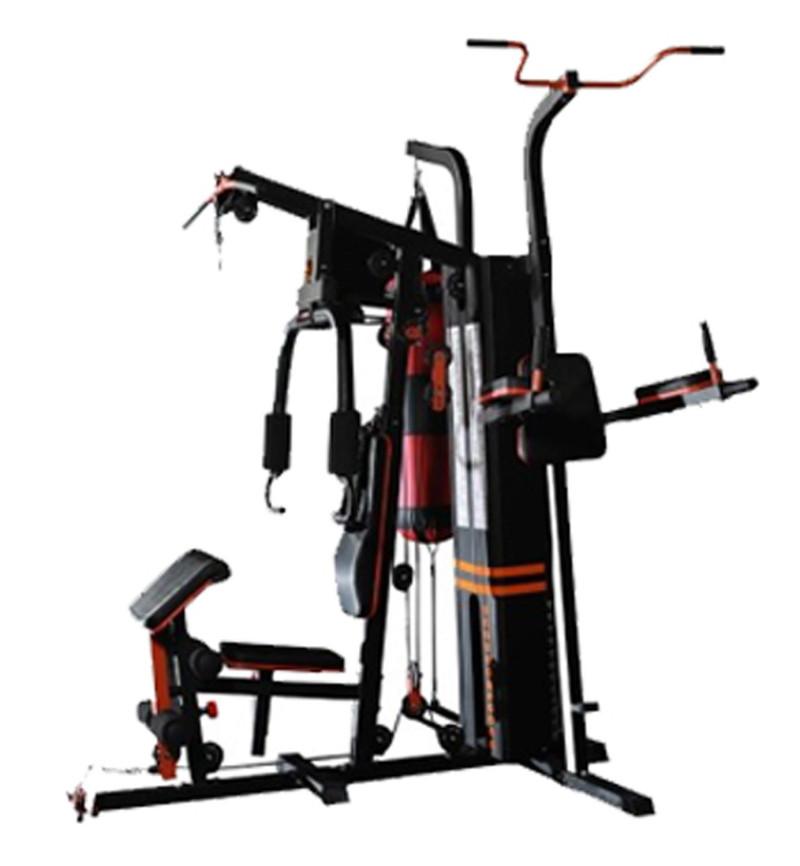Комбиниран уред - гладиатор с 80 кг тежести три работни места