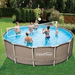 Комплект Волейбол заразлични размери басейн Metal Frame с метална рамка
