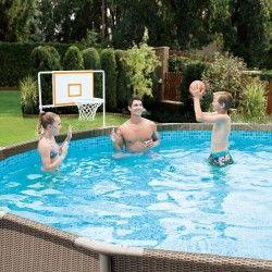 Комплект Баскетбол заразлични размери басейниMetal Frame с метална рамка