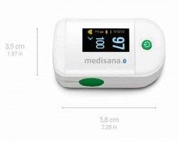 Уред за измерване нивото на кислород в кръвта и сърдечния пулс Medisana Pulse oximeter PM 100, connect Bluetooth