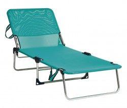 Сгъваем плажен шезлонг легло