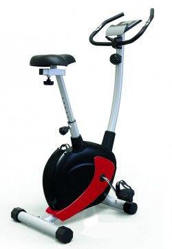 Велоергометър TS 2240 - 7Kg - магнитен диск за хора до 130 кг червен