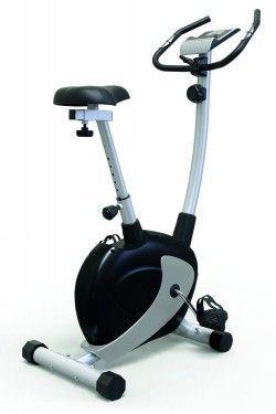Велоергометър TS 2240 - 7Kg - магнитен диск за хора до 130 кг Сребро