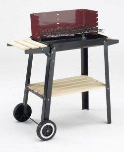 Барбекю за дървени въглища-84х87х44см 0566