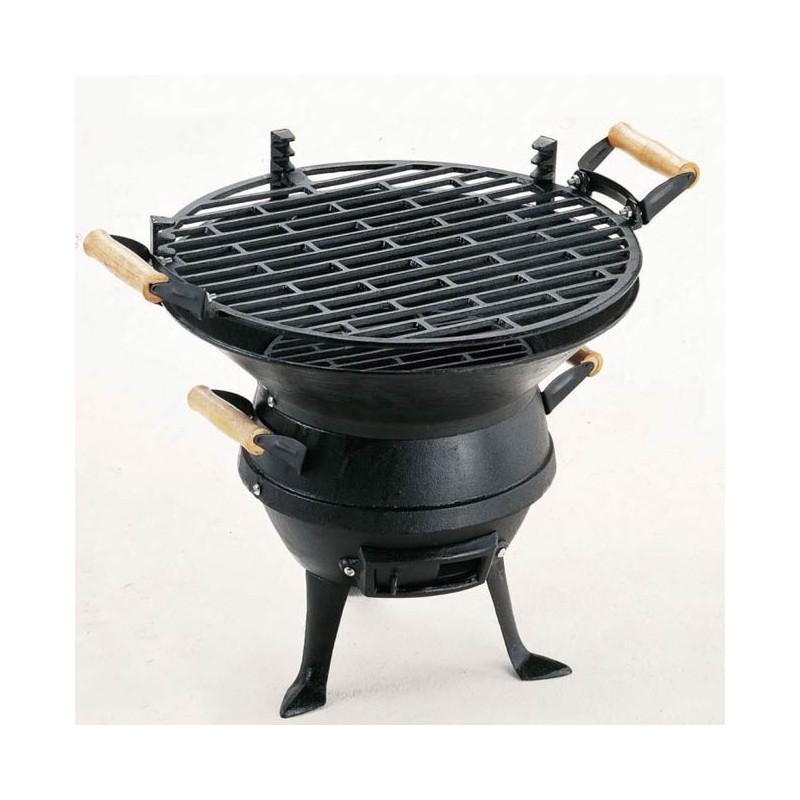 Чугунено Барбекю за дървени въглища-0630