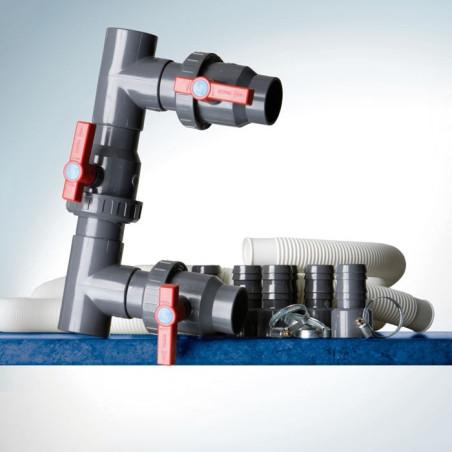 Байпас за свързване на термо помпата към кръга на филтрация