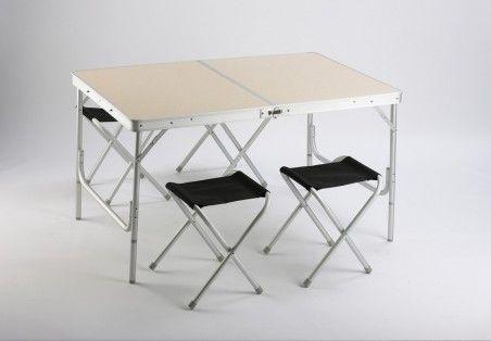 Сгъваема маса със столчета