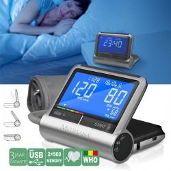 Апарат за измерване на кръвно налягане с USB Medisana CardioCompact 2 в 1 51098