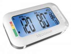 Апарат за измерване на кръвно налягане 2 в 1 с Bluethooth и будилник Medisana BU 575 connect