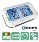 2 в 1 Апарат за измерване на кръвно налягане с Bluethooth и интегриран будилник при пътуване Medisana BU 575 connect