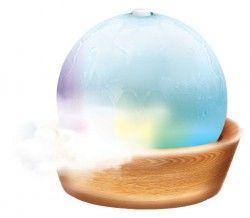 Лампа за арома и свето терапия, която се използва с етерични масла - AROMA SPRING