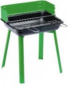 Барбекю за дървени въглища зелено