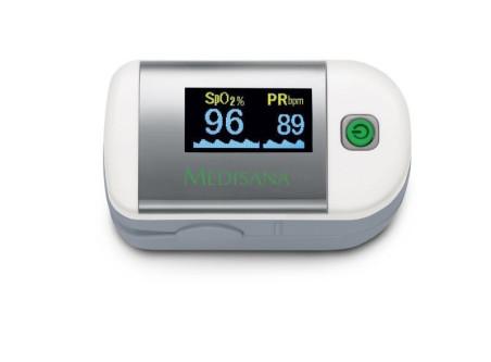Уред за измерване нивото на кислород в кръвта и сърдечния пулс Medisana Pulse oximeter PM 100, Германия 79455