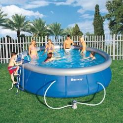 Надуваем басейн кръг размер 457cm и дълбочина 107cm 57127