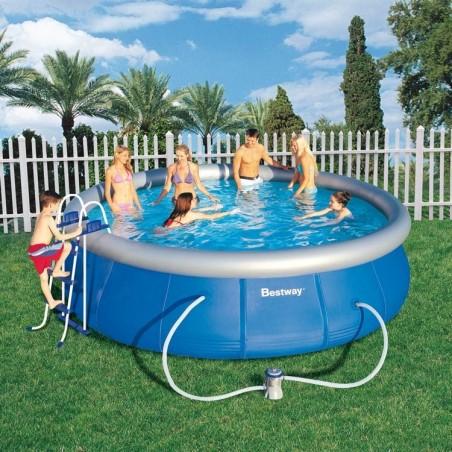 Надуваем басейн кръг размер 457cm и дълбочина 122cm