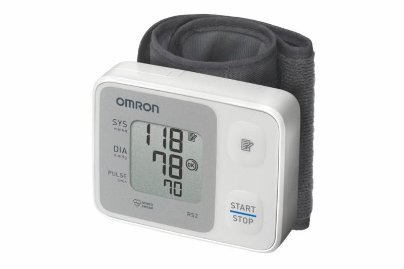 Апарат за кръвно налягане на китка Omron RS2