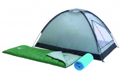 Къмпинг комплект Bestway Campak палатка, чували, подложка 68000