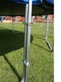 Батут 426см скачалка с мрежа и стълба SPARTAN