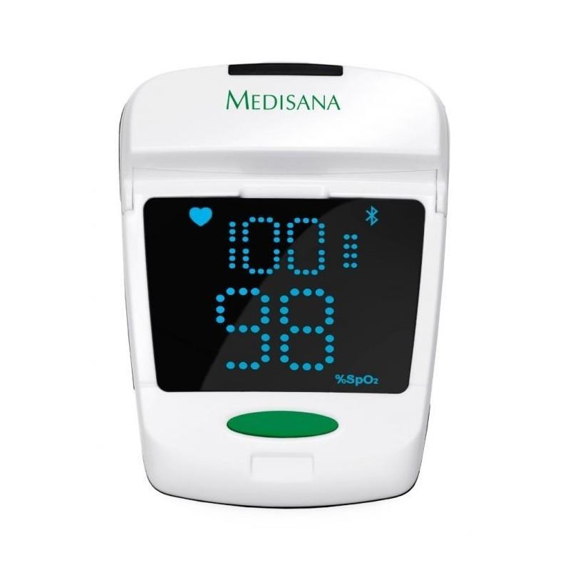 Уред за измерване нивото на кислород в кръвта и сърдечния пулс Medisana Pulse oximeter PM 150 connect 79457