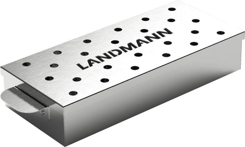 Метална кутия за чипс заопушване в барбекю. 31х11х4,5 см. 13958
