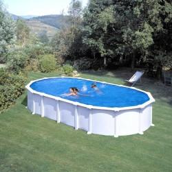 Комплектован овален басейн с U образни подпори 730 x 375 h 132 см. KITPROV7388